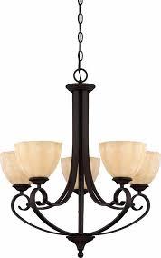 annecy 5 light antique bronze chandelier