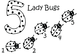 Lady Bug Coloring Sheet Cute Ladybug Coloring Pages Fashionpost Co