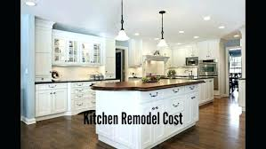 Kitchen Remodel Calculator Cost Of Kitchen Cabinets At Home Depot