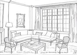 interior design living room drawings. Brilliant Drawings Living Room On Garrow Kedigian Pre War Manhattan Duplex In Interior Design Drawings S