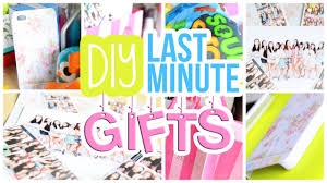 Quick, Easy & Cheap DIY Last Minute Gifts For Friends, Etc. | AlohaKatieX   - YouTube