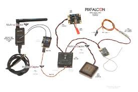 pixfalcon mini pixhawk px4 autopilot for survey holybro full set holybro pixfalcon wiring connection diagram au nz usa