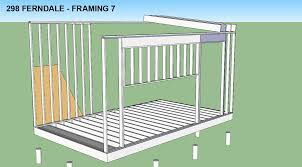 Shed Roof Home Plans 56 Flat Roof Framing Plans Flat Roof Construction On Pinterest