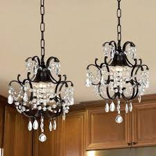 small chandeliers for kitchens gallery wrought iron and crystal mini chandelier 2 in 1 gallery wrought small chandeliers for kitchens