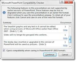 Use Compatibility Mode To Work With Different Versions Of