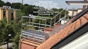 Zum verkauf stehen 4 paletten mit dachziegel und den dazugehörigen firstziegeln und ortgang für ein. Rettungstreppen Und Dachtritte Nach Din 14094 2 Nottreppen Und Dachtritte Dach Teufel