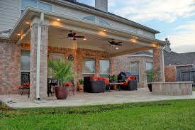 covered patio lighting ideas. Patio Cover In Cypress, TX - HHI Covers Covered Lighting Ideas