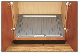 photo 7 of 8 under sink kitchen cabinet mat drip tray xtreme mats