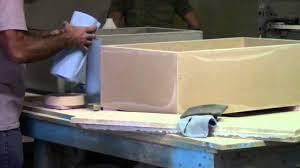 Concrete Sink Diy Making Of Concrete Farm Sinks Youtube