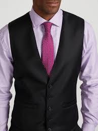 Tyrell Wool Slim Fit Waistcoat Austin Reed