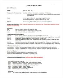 Academic Resume Templates Cool 28 Academic Curriculum Vitae Templates PDF DOC Free Premium