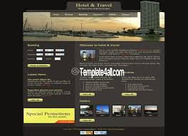 Free Html Website Templates Simple City Website Templates Free Pakbadminton