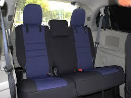 dodge grand caravan standard color seat covers rear seats
