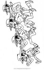 Disegno Dalton Personaggio Cartone Animato Da Colorare