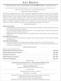 resume objectives for customer service representative customer service representative objectives for resumes objectives