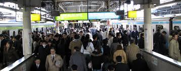 crowded subway train station. Beautiful Crowded Busy Tokyo Train Station In Crowded Subway