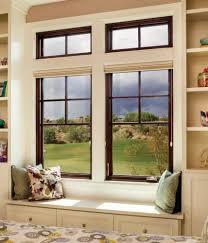 Milgard Aluminum Casement Windows Essence Series Wood Double