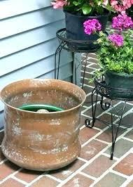 garden hose storage pot. Garden Hose Storage Pot Ceramic With Lid Club Copper I