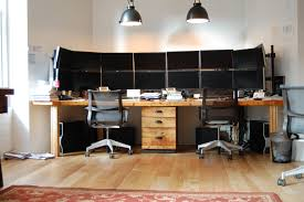 ... Home Office Furniture Ideas With 2 Person Office Desk : Two Person Home  Office Furniture Design ...