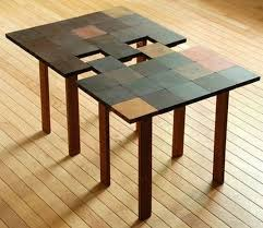 interlocking square coffee table can be