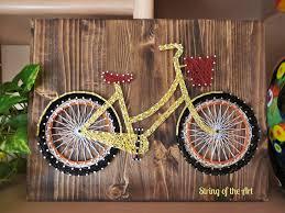 How To Do String Art Best 25 Bicycle String Art Ideas On Pinterest String Art