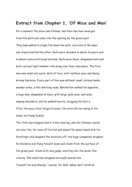 chapter of mice and men by jessrolls teaching resources tes