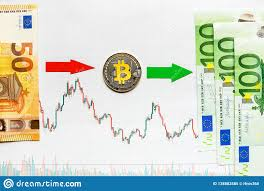 Profitable Investment Of Virtual Money Bitcoin Green Red