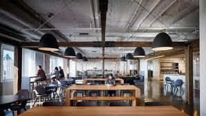 the office design. Textura, A Company Located In Chicago, Illinois, Just Built New Office This City. The Design Is Constructed Meticulously So That It Can Meet