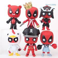 10cm funko pop deadpool cosplay action figures marvel x men model toys anime collection children xmas gift novelty items aaa793 unique novelty items unique