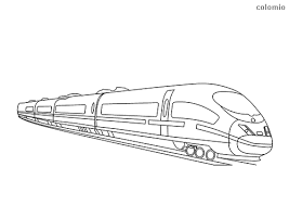 For more train fun, you may also want to print a set of free train printables. Trains Coloring Pages Free Printable Train Coloring Sheets