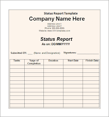Word Report Format Sample Status Report 11 Documents In Word Pdf Ppt