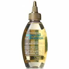 organix hydrate repair argan oil of morocco miracle in shower oil