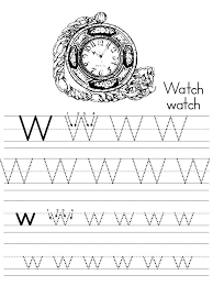 Tracing Letter W Letter W Lowercase Tracing Tracing Letter Bb ...