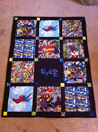 Between the Rabbit's Ears: Marvel Quilts & I backed both the quilts with flat sheets. Kyle's is backed with a classic  Spider-Man design from Target. Adamdwight.com