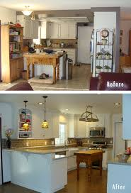 Kitchen Remodeling Before And After Furniture Kitchen Remodeling Ideas Before And After Library