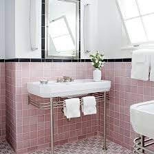 33 pink and black bathroom tile ideas