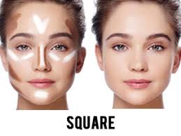 square face makeup tips