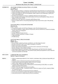 Lead Electrical Resume Samples Velvet Jobs