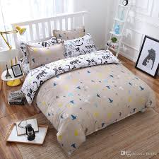 whole children bedding bed set of high quality cartoon baseball sports style fabrics and comfortable bed sheet full size comforter sets silver bedding