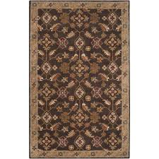 square indoor outdoor rug new artistic weavers epictus chocolate 8 ft x 11 ft indoor area