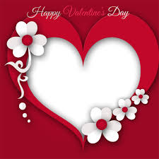valentines day heart frame png transpa image