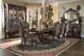 Michael Amini Essex Manor Formal Dining Room Set Deep English Tea