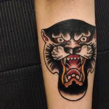 Panther Tattoo Francescovodini Classictattooclub