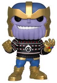 <b>Фигурка Funko POP</b>! Marvel: Holiday: Танос 43336 — купить по ...