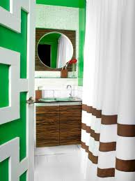 bathroom colors green. Kelly Green Bathroom With Contemporary Wood Vanity Colors A