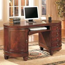 Image Of Oval Office Deskcomputer Desk Hide Wires Computer Hidden  Compartment .