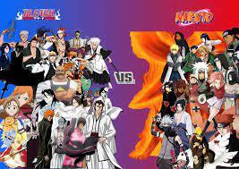 Bleach vs. Naruto collage by AzureKensei on DeviantArt