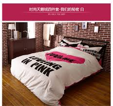 hot ing pink white black leopard full queen size bedding set velvet doona cover set