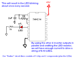 i make projects miniature usb powered led christmas trees you might want to make just the flasher circuit on a breadboard first to make sure you have it right the following schematic will blink the led regularly