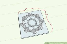 Square Paper 3 Ways To Visualize Square Feet Wikihow